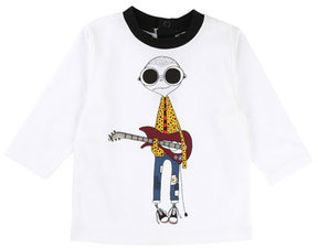 Little Marc Jacobs Mister Marc Essential Graphic Tee, Size 2-3