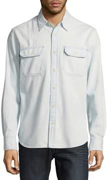 Jean Shop Men's Kevin Pool Cotton Button-Down Shirt