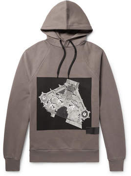 Public School Cimarron Printed Fleece-Back Cotton-Jersey Hoodie