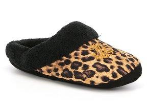 Lauren Ralph Lauren Leopard Fleece Holiday Slippers