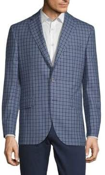 Jack Victor Conway Checkered Jacket