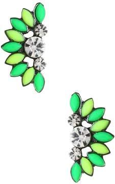 Amrita Singh Women's Holi Crescent Stud Earrings