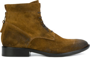 Strategia lace-up boots
