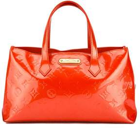 Louis Vuitton Orange Monogram Vernis Leather Wilshire PM Bag - ORANGE - STYLE