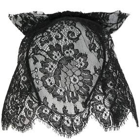 Maison Michel lace veil