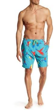Sovereign Code Harbor Printed Swim Trunks