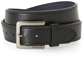 Nautica Black Tonal Stitch Belt