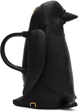 Thom Browne Black Penguin Duffle Bag
