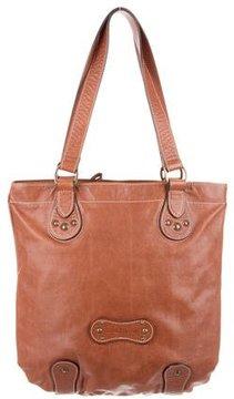 Longchamp Leather Tote Bag