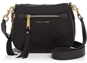 Marc Jacobs Trooper Nomad Small Nylon Saddle Bag - BLACK/GOLD - STYLE