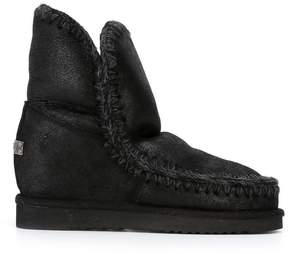 Mou interior wedge eskimo boots