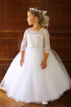 No Name Flower Girl Lace Dress