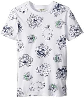 Kenzo Tee Shirt Tigers Boy's Clothing