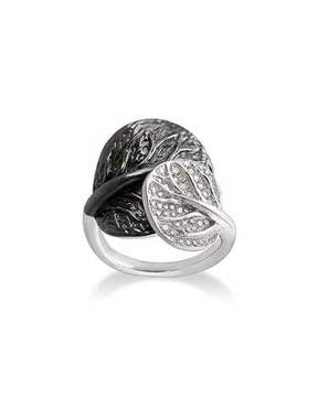 Michael Aram Botanical Double-Leaf Ring
