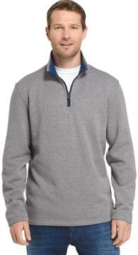 Izod Men's Advantage Regular-Fit Performance Quarter-Zip Fleece Pullover