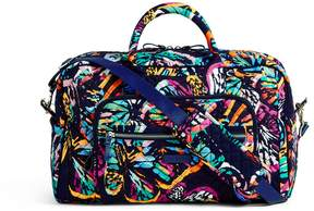 Vera Bradley Iconic Compact Weekender Travel Bag - PAISLEY STRIPES - STYLE