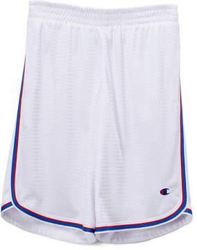 Champion White Stripe Mesh Shorts - Boys