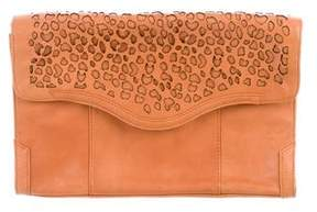 Rebecca Minkoff Laser Cut Envelope Bag - BROWN - STYLE