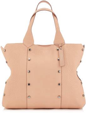 Jimmy Choo LOCKETT SHOPPER Ballet Pink Grainy Leather Tote Bag