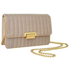 Whiting & Davis Sydney Quilted Clutch