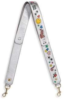 Anya Hindmarch Graphic Leather Shoulder Strap
