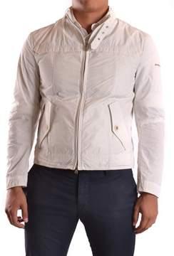 Peuterey Men's White Polyester Jacket.