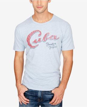 Lucky Brand Men's Cuba Paradise Graphic-Print Cotton T-Shirt