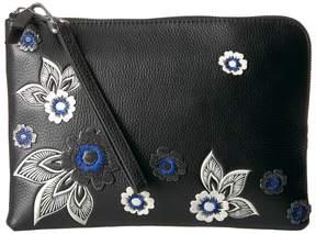 Vera Bradley Mallory RFID Wristlet Wristlet Handbags - LOTUS BLOOMS - STYLE