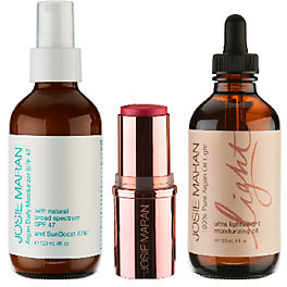 Josie Maran Argan Hydrate & Protect Super-size 3-pc Collection