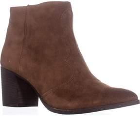 Dolce Vita Lennon Pointed Toe Block Heel Boots, Acorn.