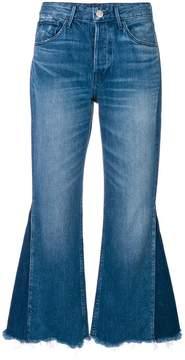 3x1 W4 Higher Ground crop flare jeans