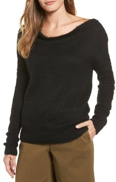 Caslon Women's Long Sleeve Brushed Sweater