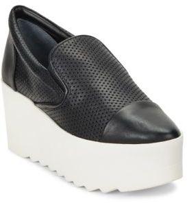 KENDALL + KYLIE Tanya Perforated Platform Slip On Sneakers