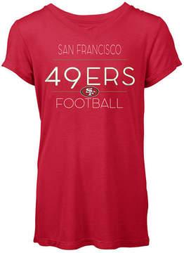 5th & Ocean Women's San Francisco 49ers Rayon V T-Shirt