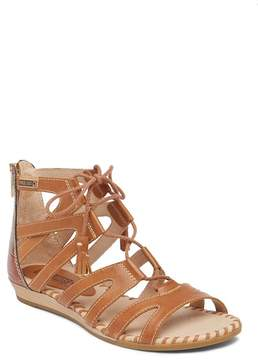 PIKOLINOS Alcudia Lace-Up Leather Sandal