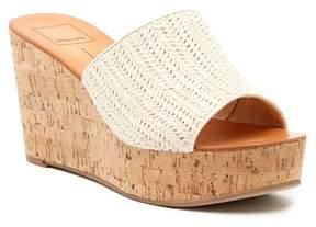 Dolce Vita Barkley Woven Cork Wedge Sandal