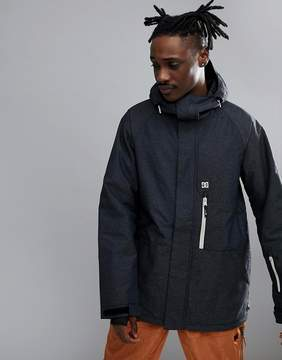 DC Snow Ripley Jacket With Back Panel Print