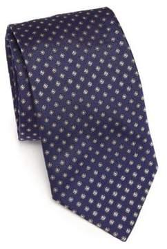 Eton Floral Printed Silk Tie