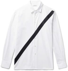 Public School Neruda Grosgrain-Trimmed Cotton Oxford Shirt
