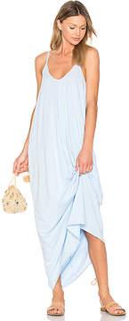 Bobi Drape Maxi Dress