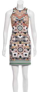 Clover Canyon Sleeveless Digital Print Dress