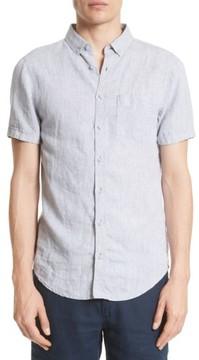 Onia Men's Trim Fit Linen Shirt
