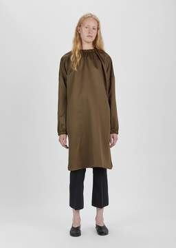 Dusan Dušan Elastic Collar Long Tunic Tobacco Size: X-Small