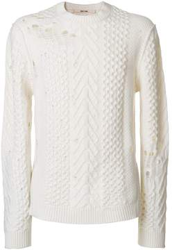 Damir Doma distressed sweater