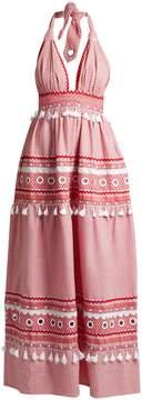 DAY Birger et Mikkelsen DODO BAR OR David halterneck cotton maxi dress