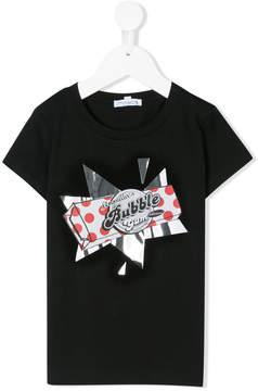 Simonetta Bubble Gum print T-shirt