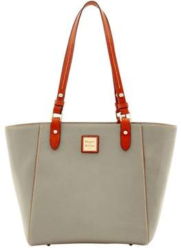 Dooney & Bourke Pebble Grain Janie Tote - SMOKE - STYLE
