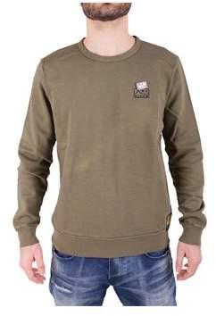 Scotch & Soda Men's Green Cotton Sweatshirt.