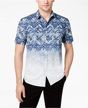 American Rag Men's Ombre Print Shirt, Created for Macy's