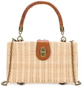 Patricia Nash Spring Wicker Collection Ayora Frame Bag